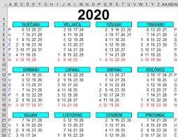 Slunjski kalendar događanja u 2020. godini